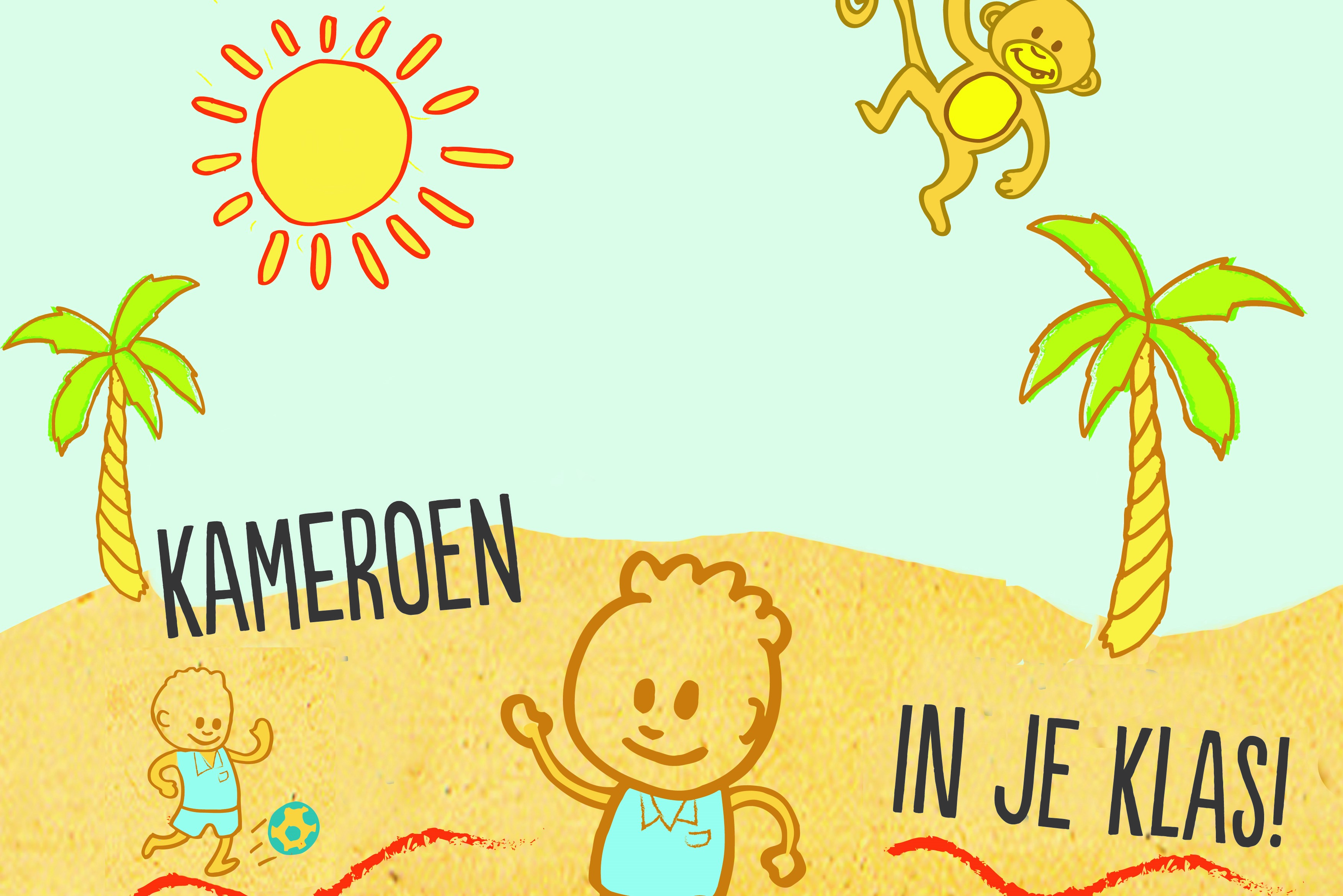Welp Kameroen in je Klas - LiveBuild VO-32